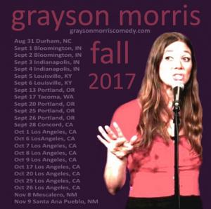 Grayson Tour Poster